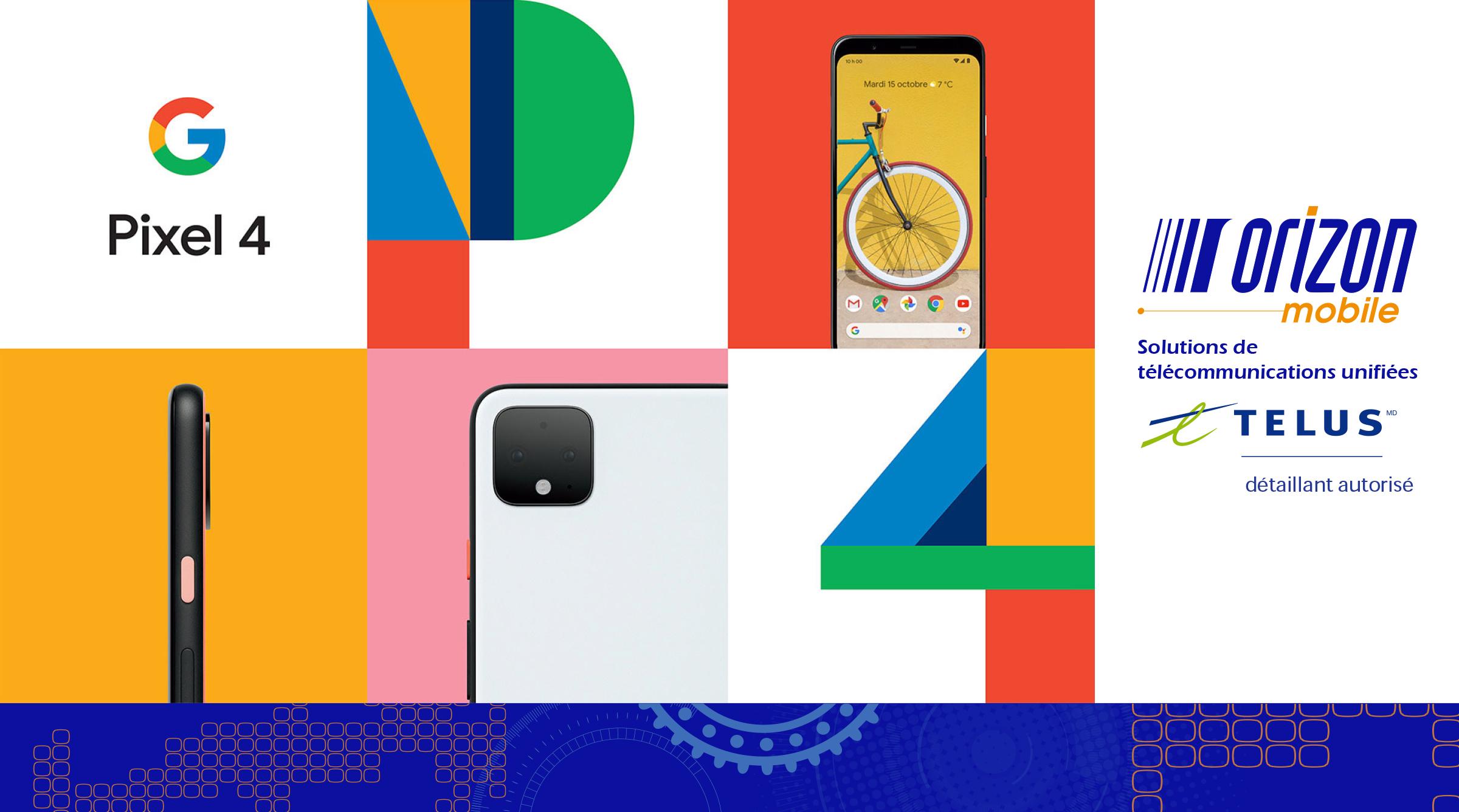 Pixel 4 médias sociaux